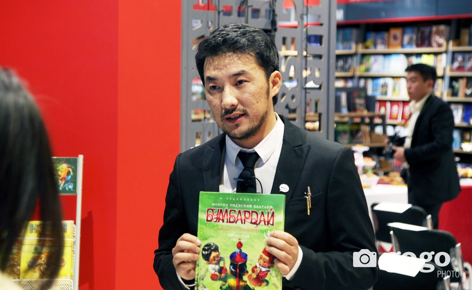 'Bumbardai' comic book author Erdenebayar Nambaral