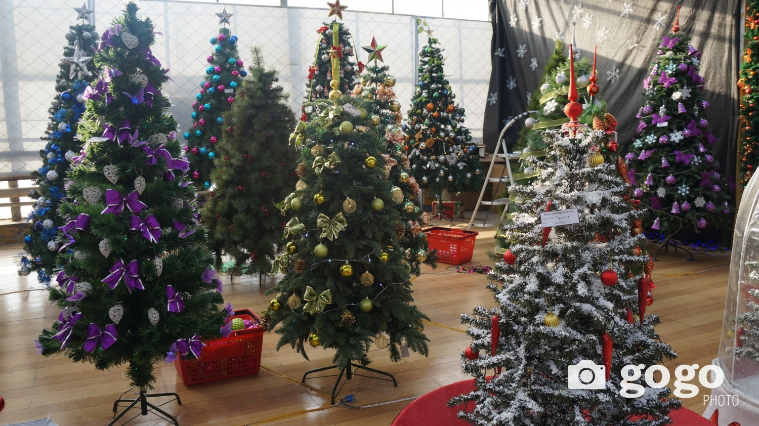 Prices for the tree is depending on its size, design and light. Tree with the height of 1.2 m is at MNT 38.950-108.000. Tree with the height of 1.5 m is at MNT 120.900-155.000. Tree with the height of 1.8 m is at MNT 125.000-250.000. Tree with the height of 2.1 m is at MNT 250.000-295.000. Tree with the height of 2.7 m is at MNT 410.000-495.000.