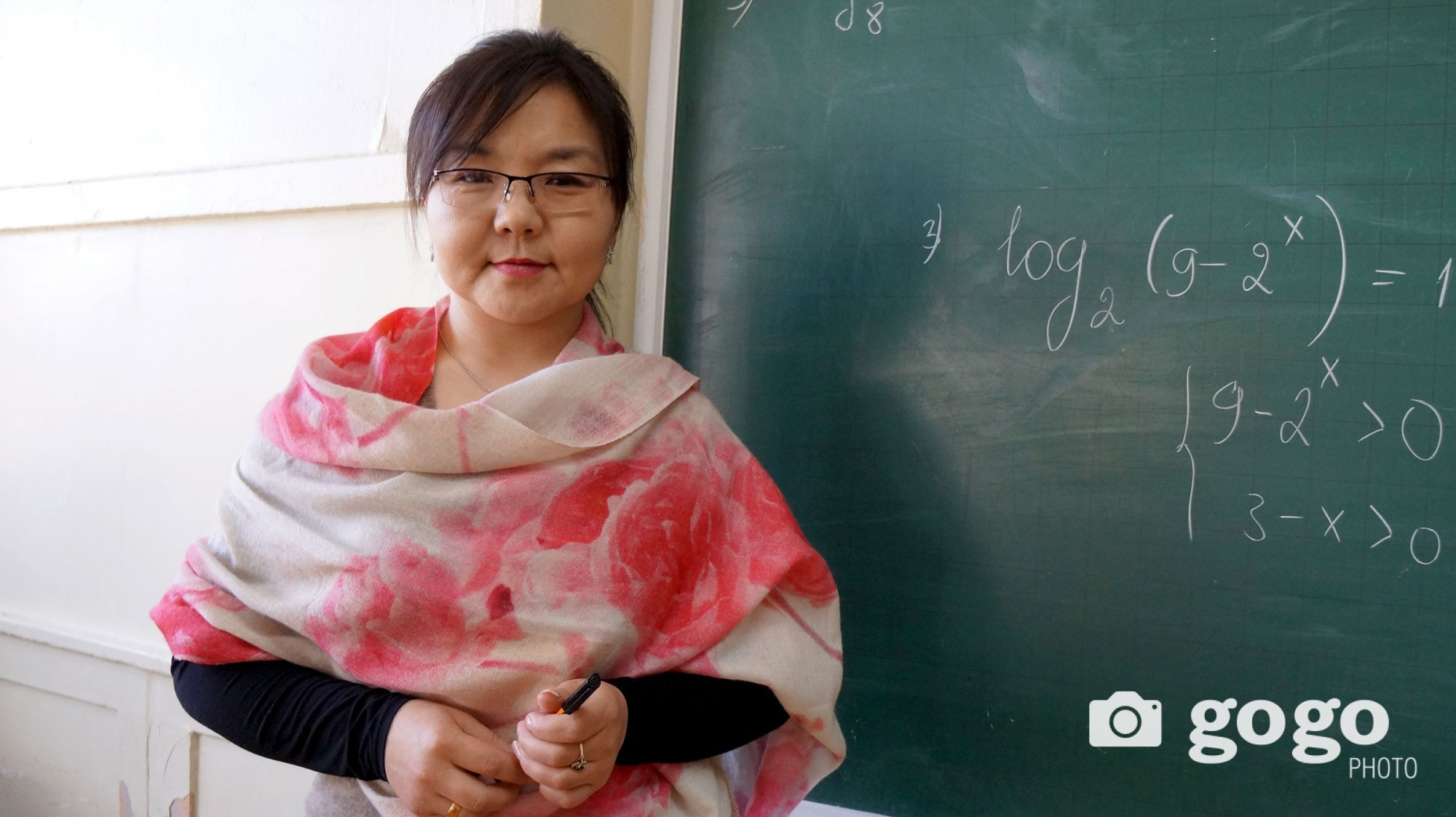 Ts.Batjargal works as biology teacher at 33rd secondary school. She wants young generations to be mannered and educated.