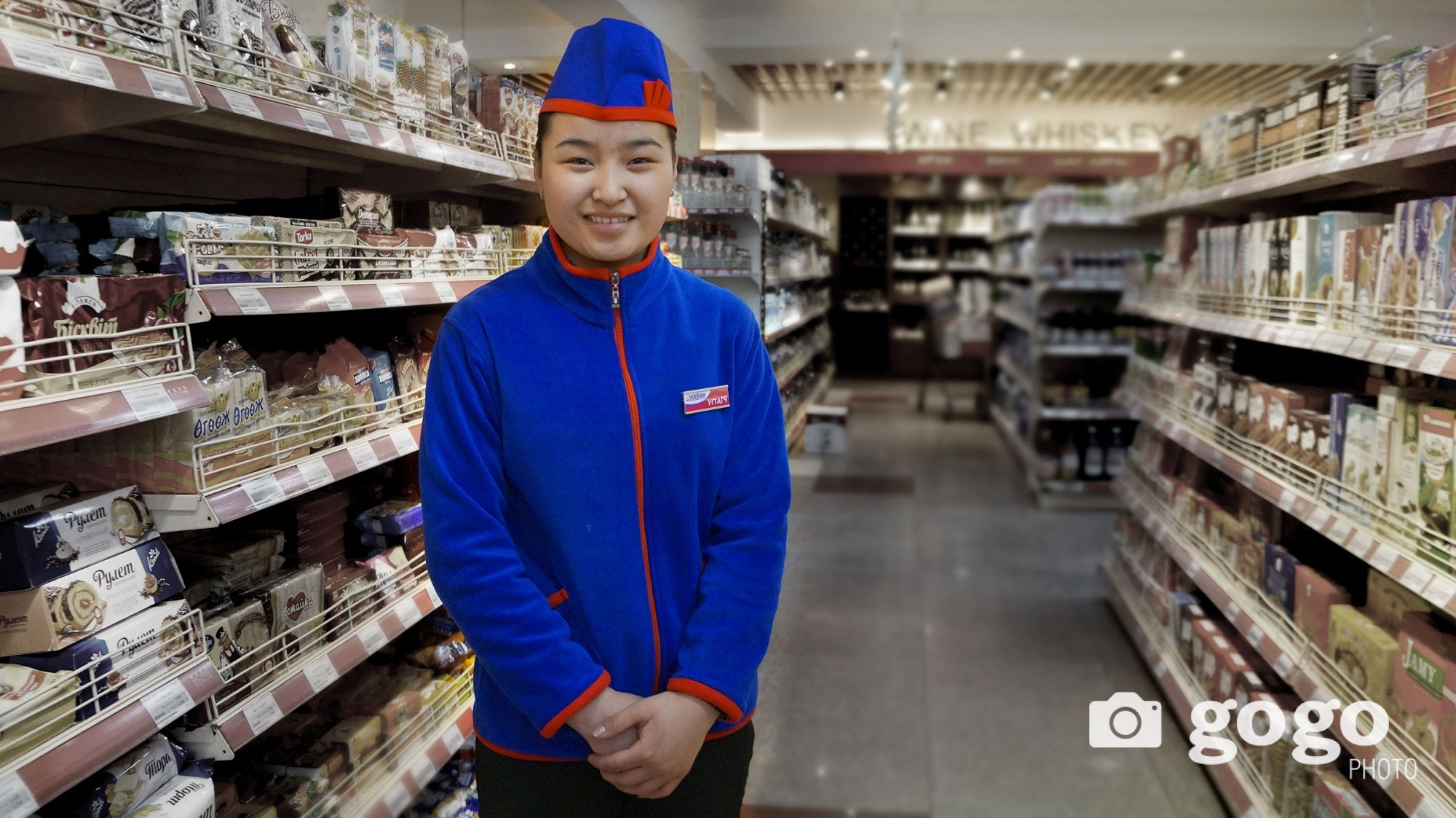 B.Namuun works as reception at Sansar supermarket. She wants success at her career and to have nice family.