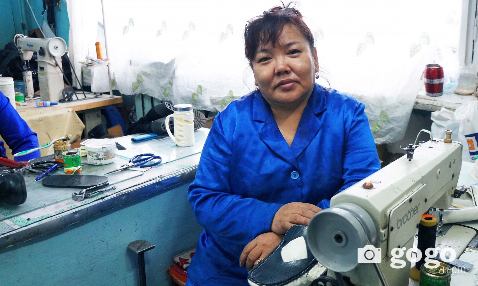 G.Enhzaya is a tailor. She wants all Mongolians to live peacefully and healthy.